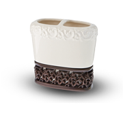 Filligree Toothbrush Holder
