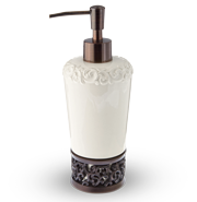 Filligree Lotion Bottle