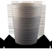 Ombre Waste Basket
